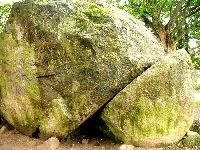 Diabelski Kamień w Bisztynku
